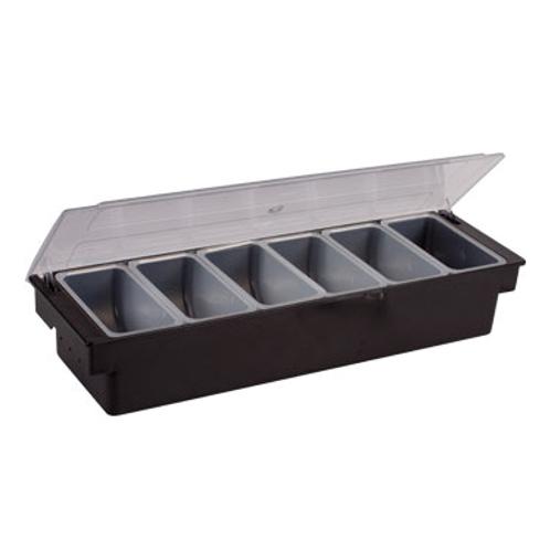 Condiment Holder, 6-Compartment