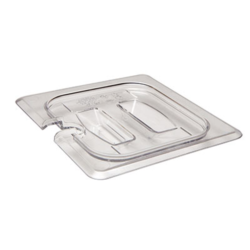 Clear Plastic Cover, Notched
