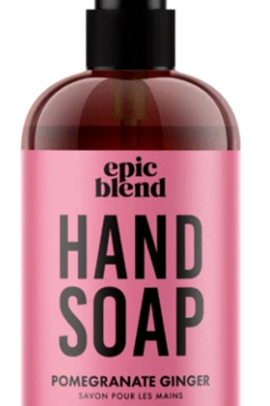 Pomegranate Ginger Hand Soap