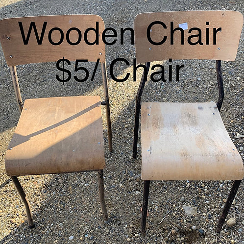 Wooden Chairs - As Is