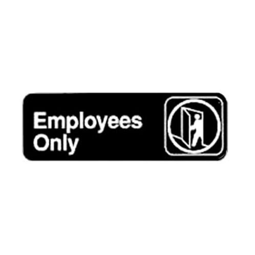 """Employees Only"" Sign"