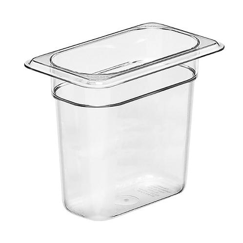 """Clear Plastic Insert 1/9 x 6""""D"""