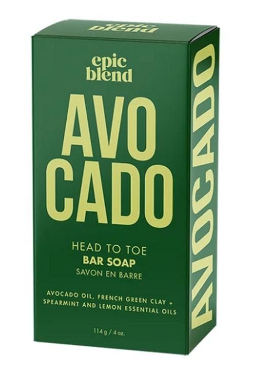 Avocado Bar Soap