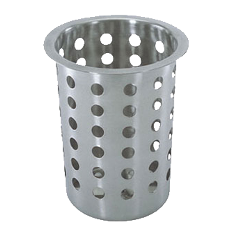 "Cutlery Cylinder, 4.5"" Perforated"