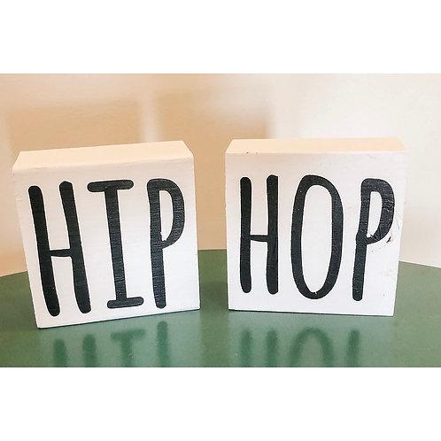 HIP HOP - Set of 2