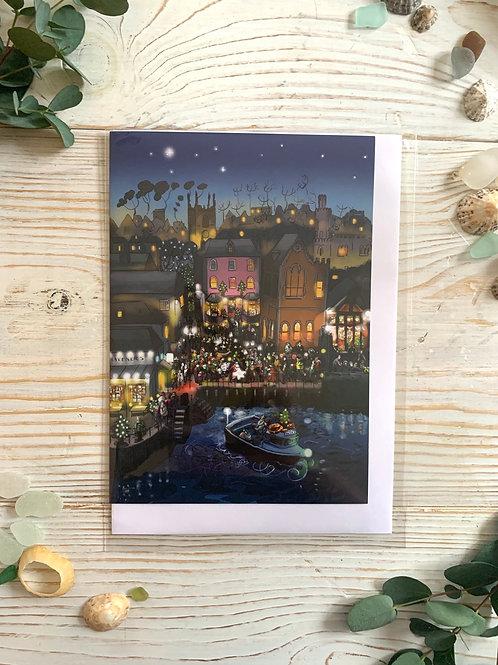 Christmas on Town Quay Card