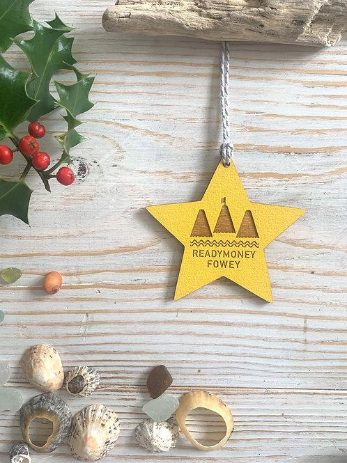 Wooden Star Decoration