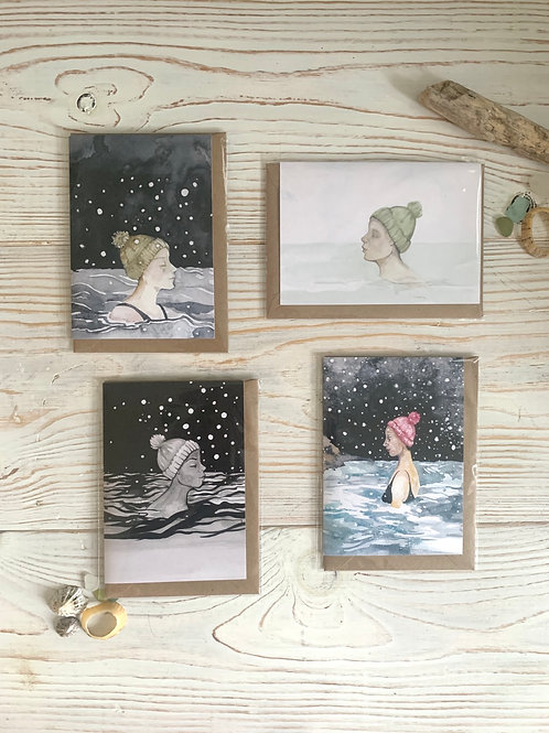Wild Swimming Cards