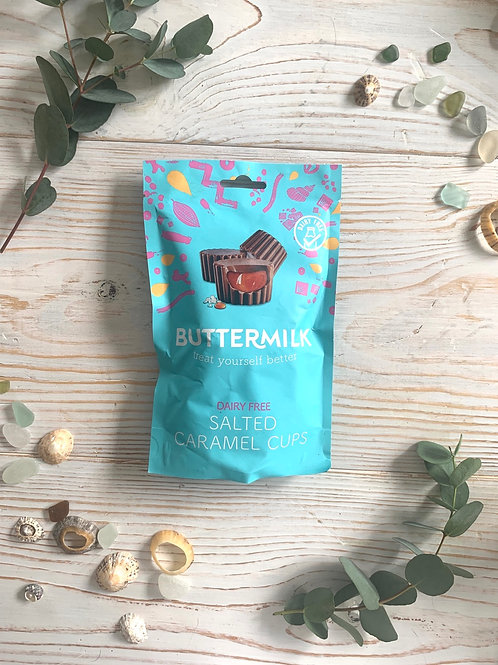 Dairy Free Salted Caramel Cups, 100g
