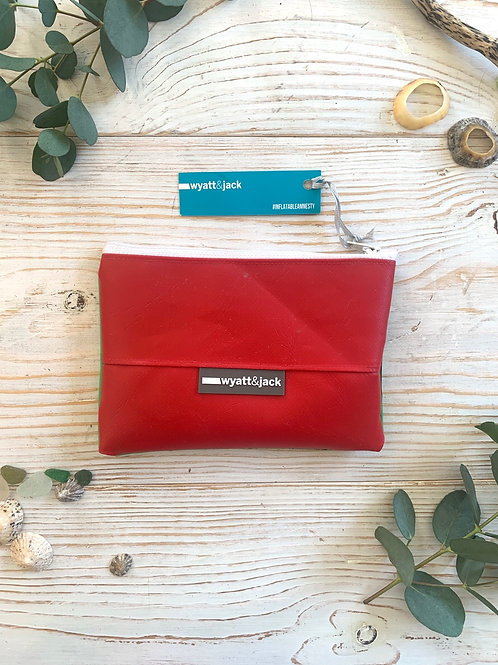 Upcycled Inflatable Zipped Pouch