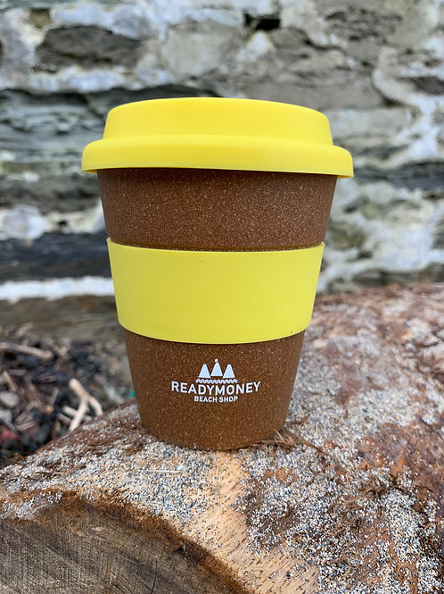 Branded Bamboo Reusable Coffee Cup