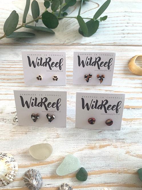 Wild Reef Mini Studs