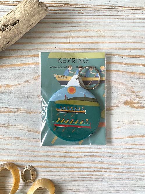 Gig Rower/Fisherman Keyring