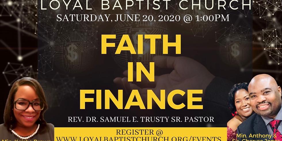 Faith In Finance