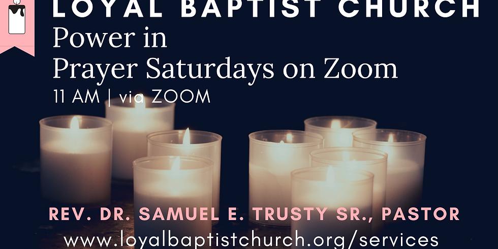 Power In Prayer Saturdays