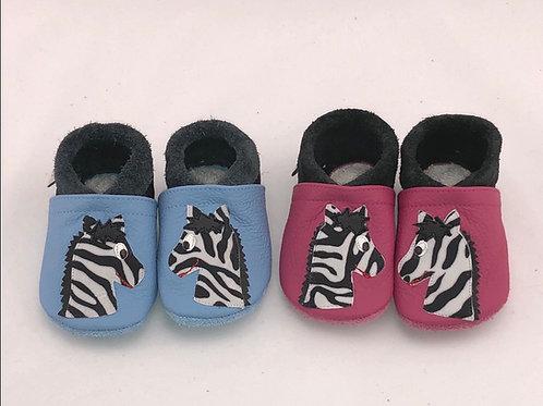 Kinderlederschuh Modell Zebra