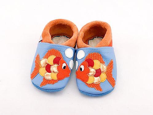 SK Kinderlederschuh Fisch