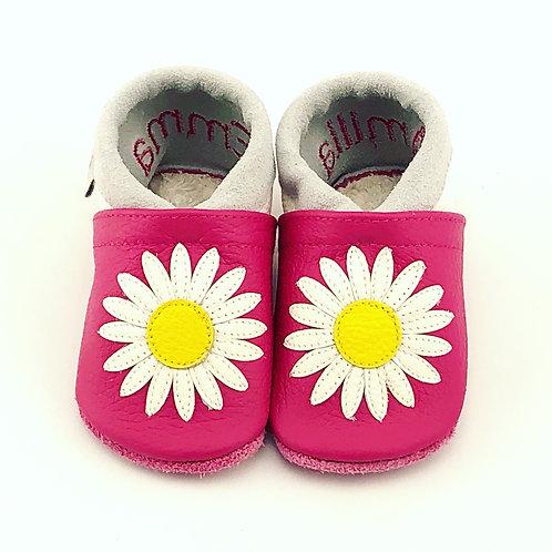 Kinderlederschuh Modell Margeriten-Gänseblümchen