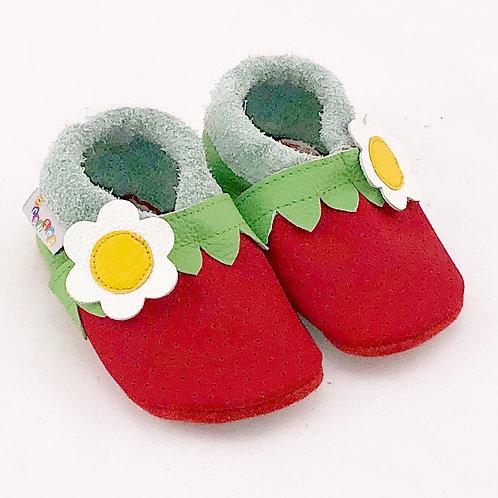 SK Kinderlederschuh Erdbeere