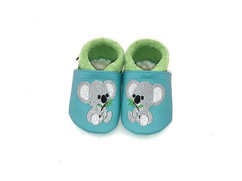 SK Kinderlederschuh Bestickt: Koala