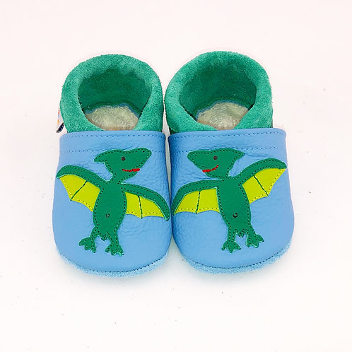 Kinderlederschuh Modell Flugsaurier