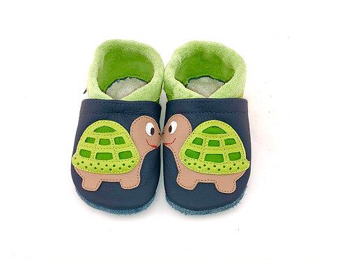 SK Kinderlederschuh Schildkröte