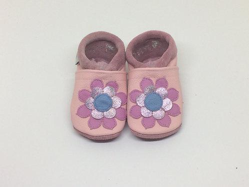 Kinderlederschuh Modell Blume