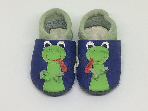 Kinderlederschuh Modell Frosch
