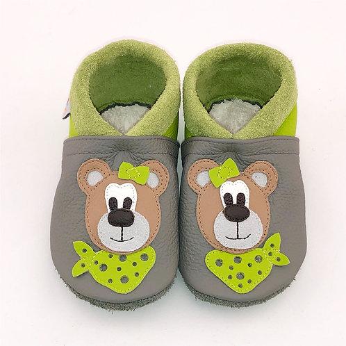 Kinderlederschuh Modell Bär Mädchen