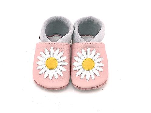 SK Kinderlederschuhe Gänseblümchen