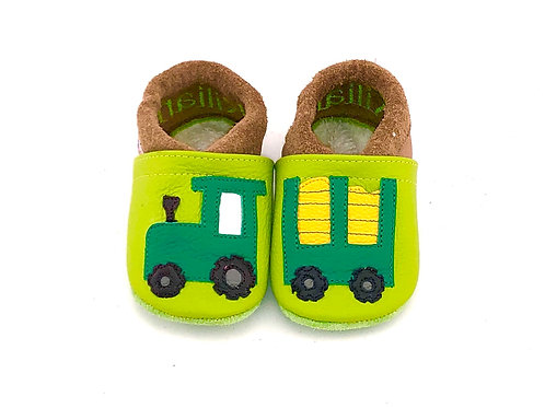 Kinderlederschuh Modell Traktor