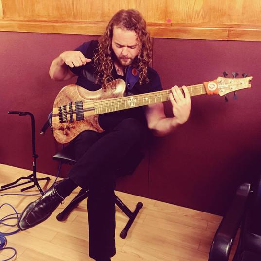 Warrior Custom Electric Bass