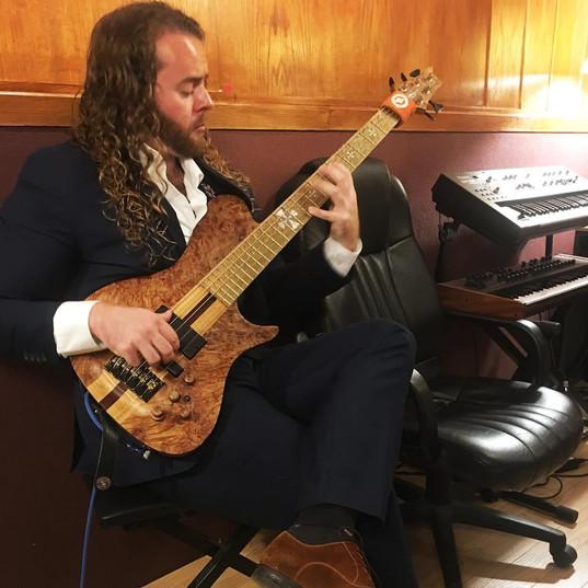 Warrior Custom 5 String Bass
