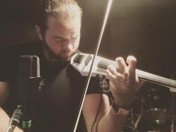 Recording Session NS Violin