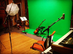 Green Screen set up for video