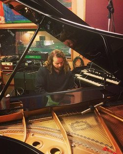 recording piano tracks