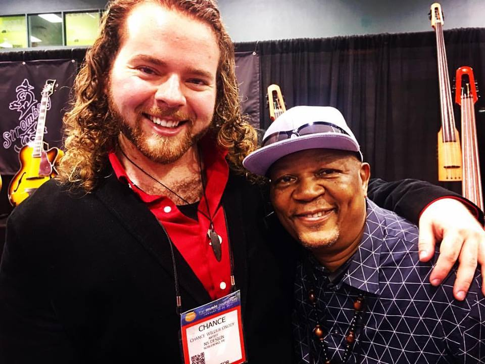 Chance & Bakithi at NAMM