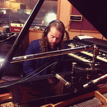 Grand Piano in Travis Dickerson's Studio