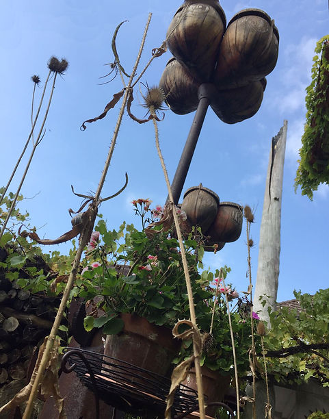 rosentrilogie, roses trilogy, sculpture, effretikon