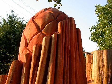 mammutzapfen, mammoth cones, sculpture, uetliberg, zuerich