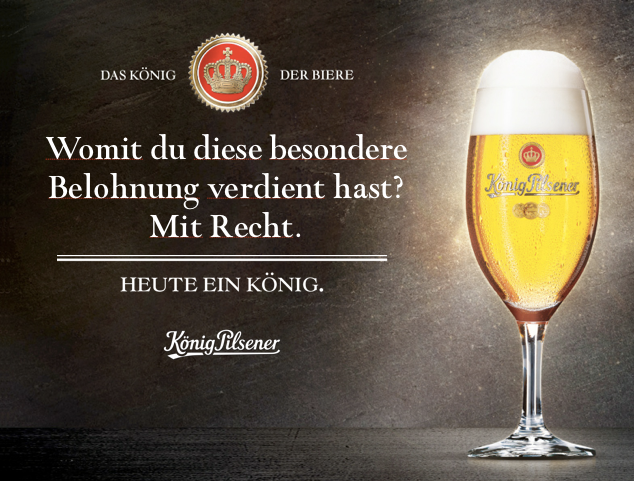 König Pilsener Funkkampagne