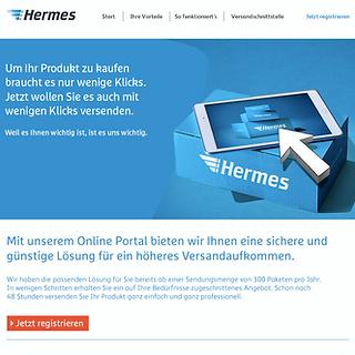 Hermes B2B Website