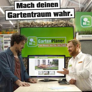 """OBI Gartenplaner """"Mach deinen Gartentraum wahr."""