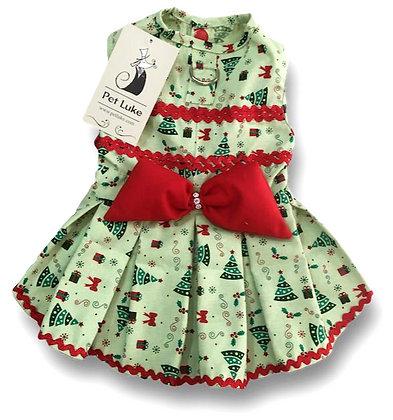 Vestido Pet de Natal