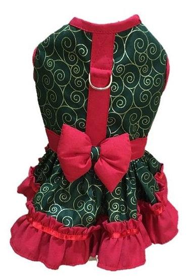 Vestido Pet de Natal TAM 4