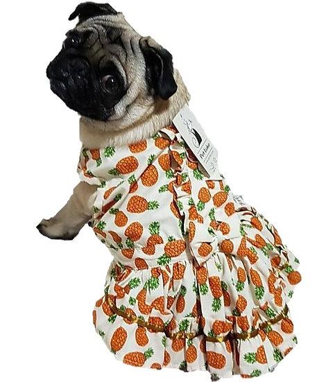 Vestido Abacaxi Verão