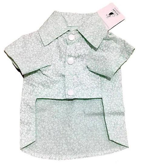 Camisa Floral Verde