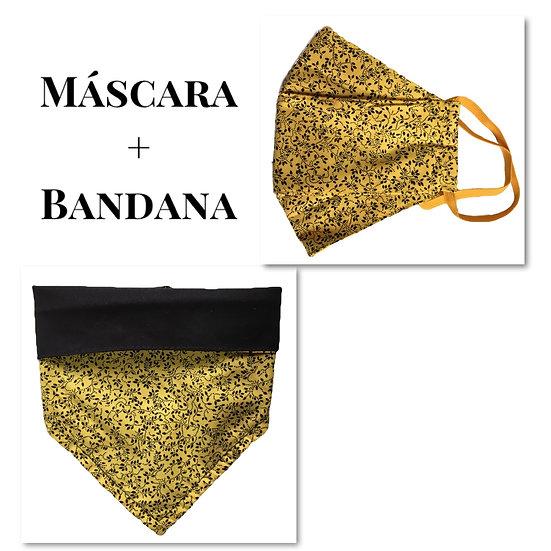 Máscara + Bandana Pet