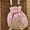 Thumbnail: Rouche Pink Potli Bag