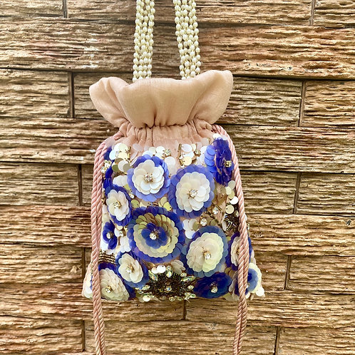 Nightangale - 3D flower Potli Bag
